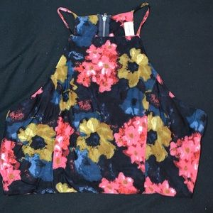 Abercrombie&Fitch floral crop top